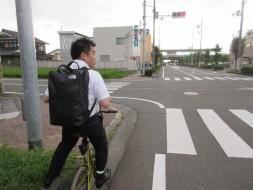 8/24 6:20 何年ぶりの自転車通勤(笑)
