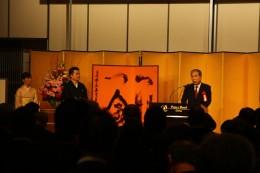 県議会を代表して野田副議長