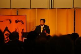 冨士谷近江八幡市長に市長会代表で