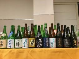 滋賀の地酒とお茶で宴開始